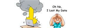 Alle data kwijt