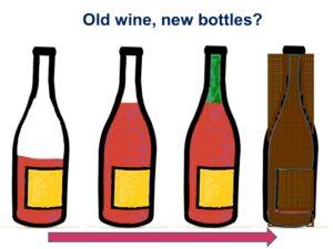 Oude Wijn Nieuwe Fles